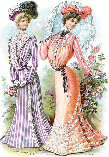 a look at the fashion in the early 20th century Those notes, which start with gall's vision of fashion in the aughts and proceed chronologically, this is what someone in 1893 thought fashion would look like in the 20th century home.